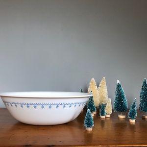 Corelle Vintage Snowflake Garland Bowl